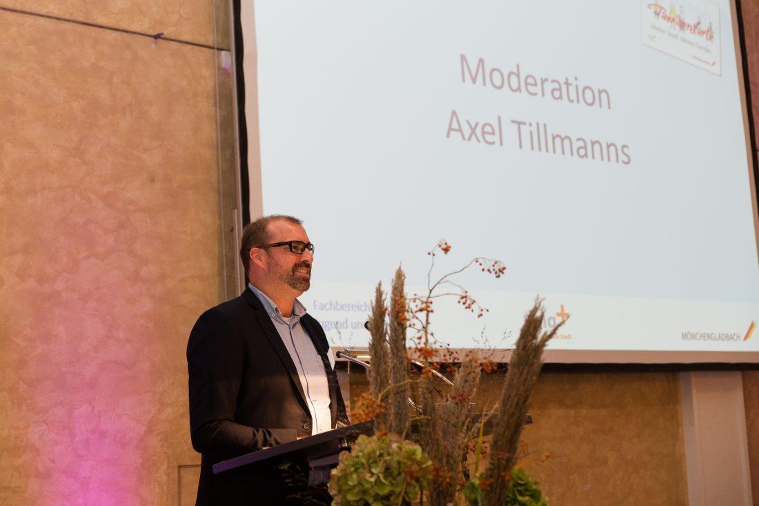 Moderator Axel Tillmanns Mönchengladbach