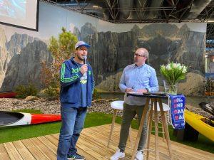 Axel Tillmanns im Gespräch mit Kayaklegende und Filmemacher Olaf Obsommer